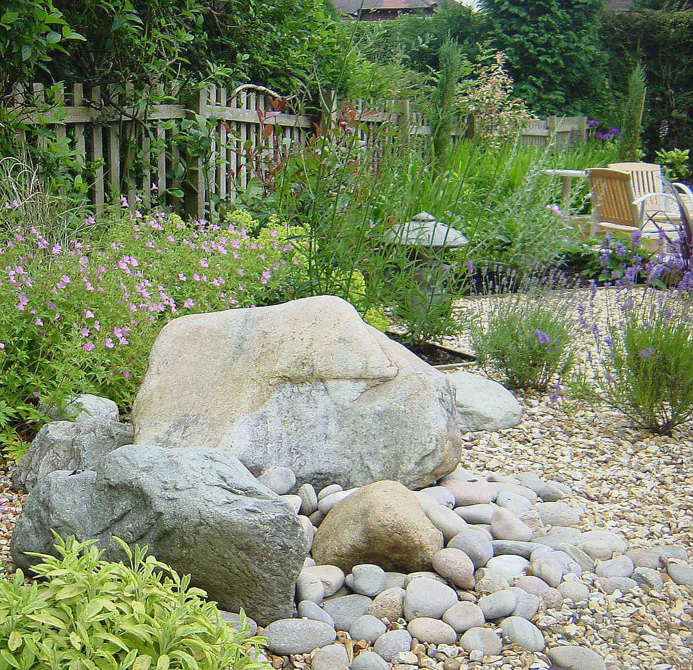 Morris ball landscaping design build for Garden design ideas rockery